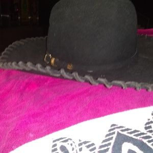 Black Lone star 20x suede/ felt cowboy hat